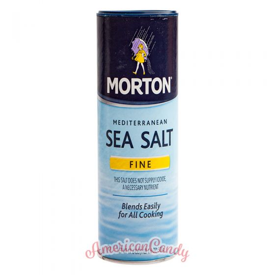 Morton Mediterranean Sea Salt Fine 500g