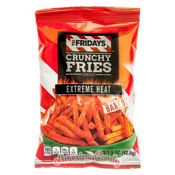 T.G.I. Friday's Crunchy Fries Snacks Extreme Heat