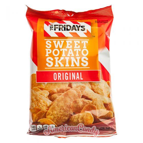 T.G.I. Friday's Sweet Potato Skins Snack Chips Original