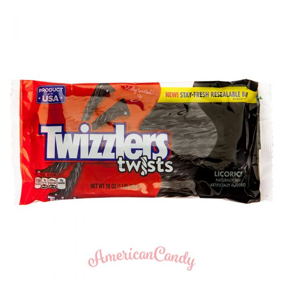 Twizzlers Licorice Twists 453g