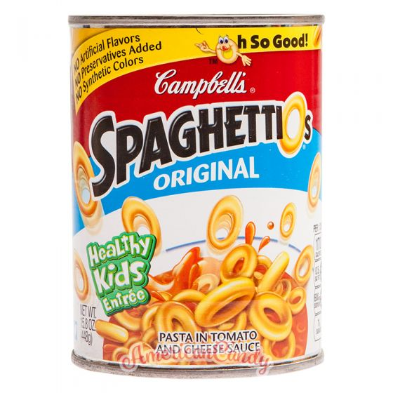 Campbell's SpaghettiO's Original 448g
