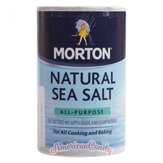 Morton Natural Sea Salt All-Purpose 737g