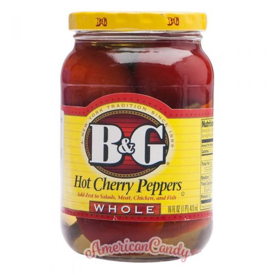 B&G Hot Cherry Peppers