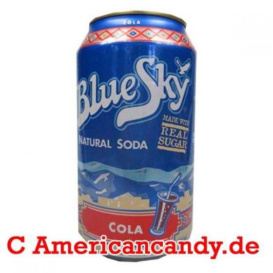 Blue Sky Cola Soda incl. Pfand