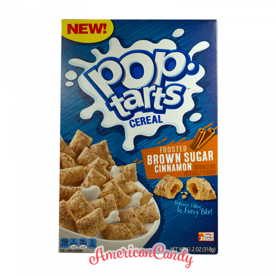 Kellogg's Pop Tarts Cereal Frosted Brown Sugar Cinnamon 318g