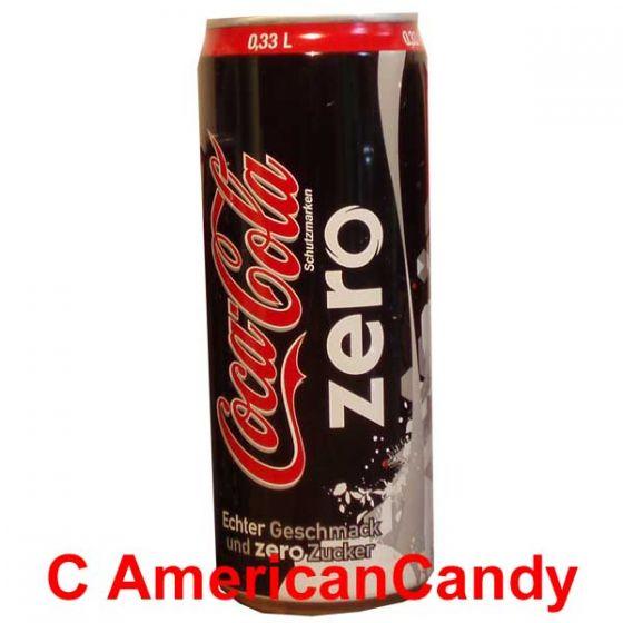 Coca Cola Zero incl. Pfand