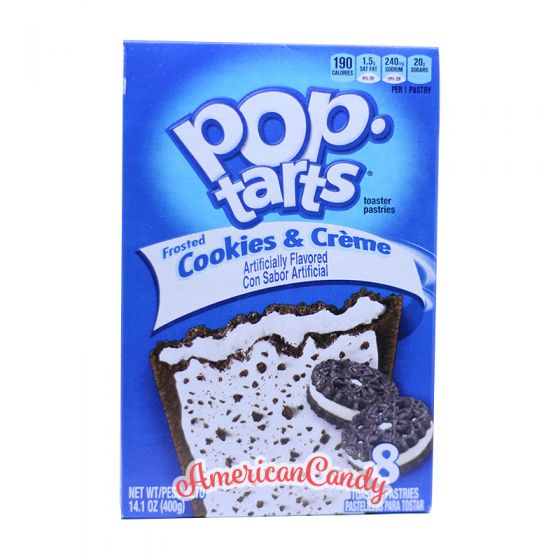 Pop Tarts Frosted Cookies & Creme (2 Toast-Taschen)