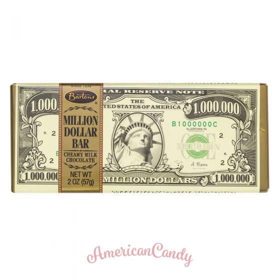 Barton's Million Dollar Milk chocolate Bar