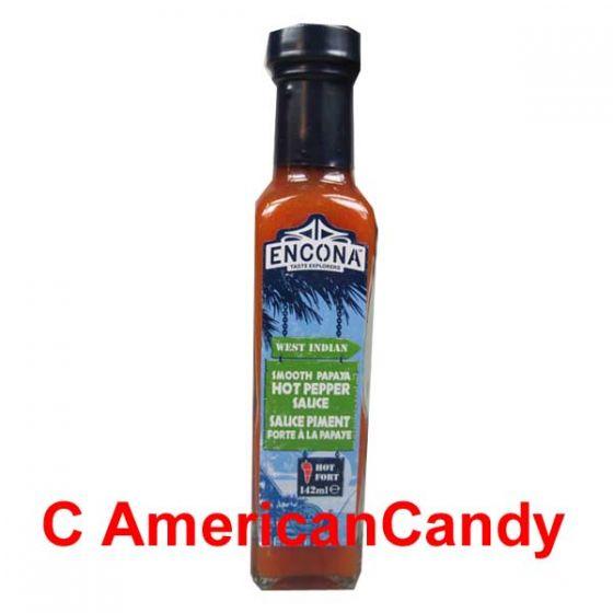 Encona West Indian Sweet Smooth Papaya Hot Pepper Sauce