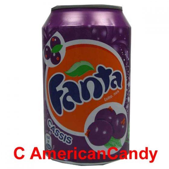 24x Fanta Cassis incl. Pfand