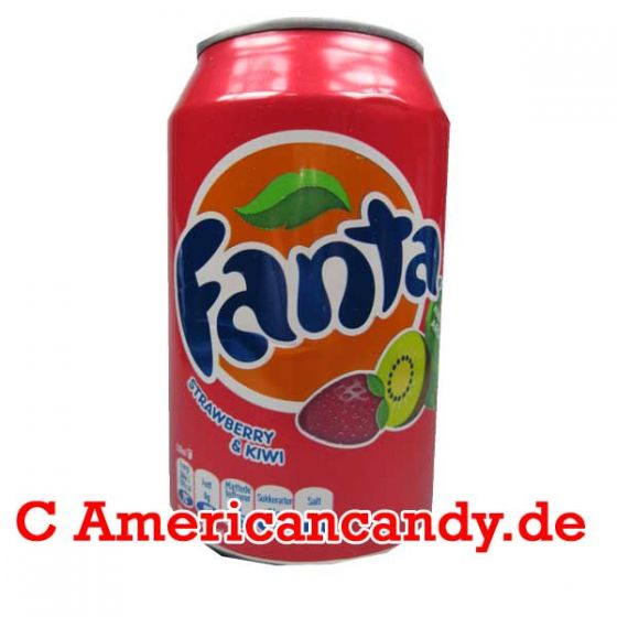Fanta Strawberry & Kiwi incl. Pfand