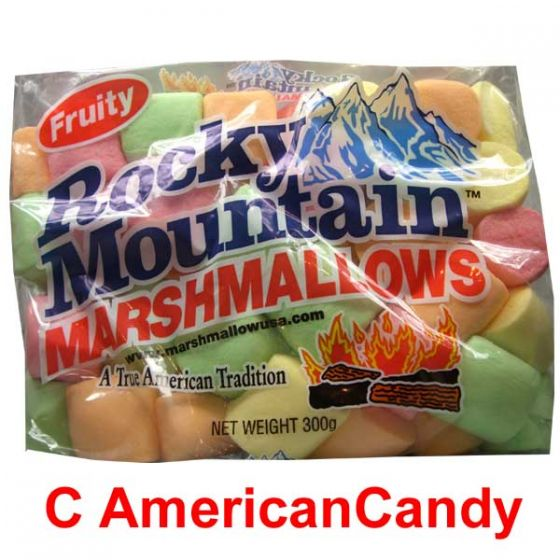 Rocky Mountain Fruity Marshmallows 300g