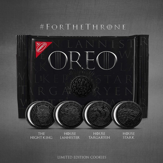 Oreo Game Of Thrones limited edition 432g