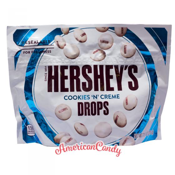 Hershey's Cookies 'n' Creme Drops BIG PACK 226g