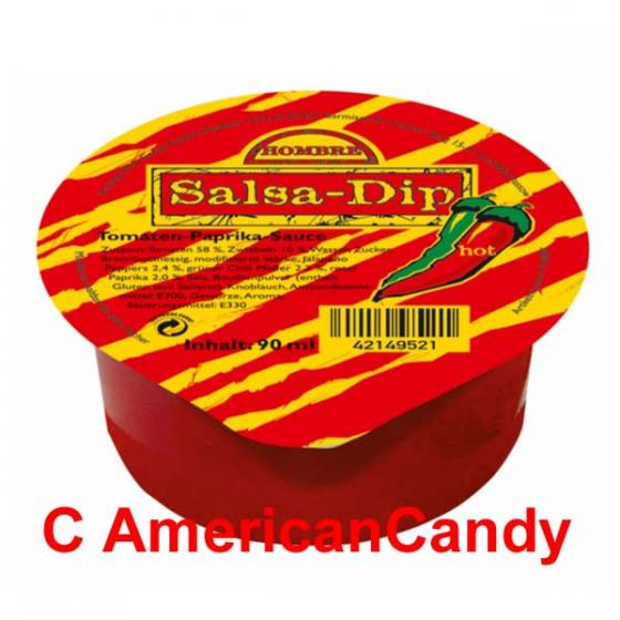 Hombre Salsa-Dip Hot 90g