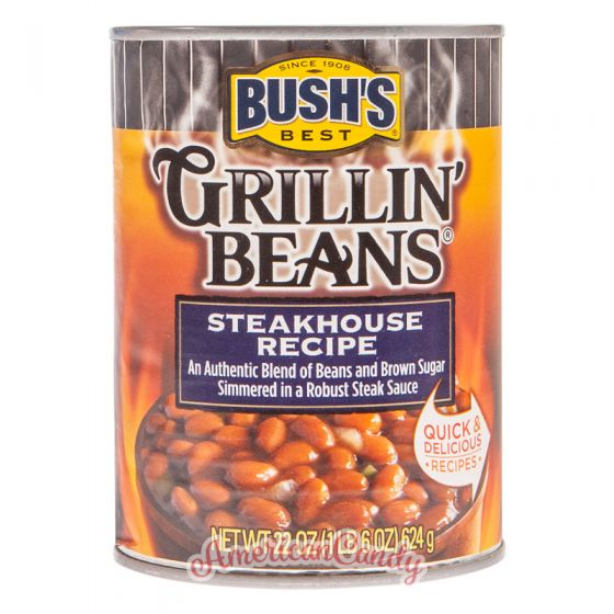 Bush's Best Grillin' Beans Steakhouse Recipe 624g
