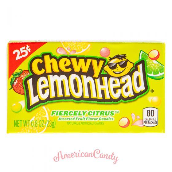 Ferrara Pan Chewy Lemonhead Fiercely Citrus