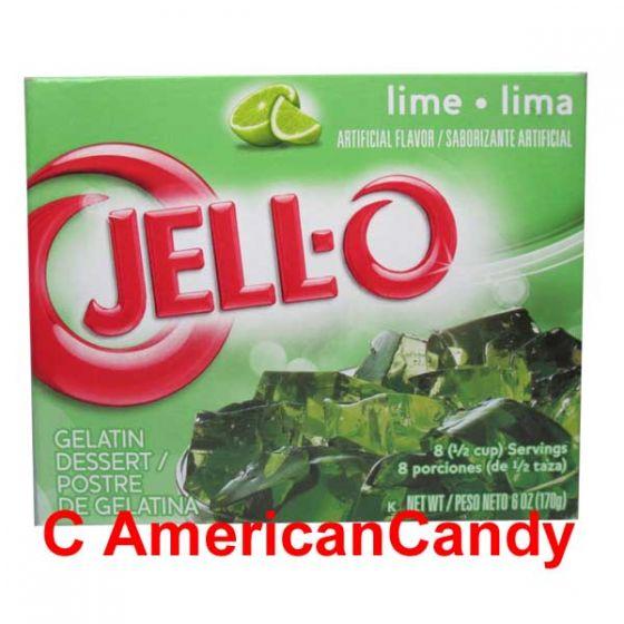 Jell-O Instant Pudding Gelatin Dessert Lime Big Pack
