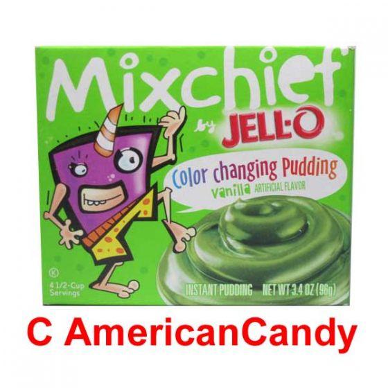 Jell-O Mixchief Color Changing Pudding Vanilla
