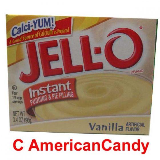 Jell-O Vanilla Instant Pudding & Pie Filling