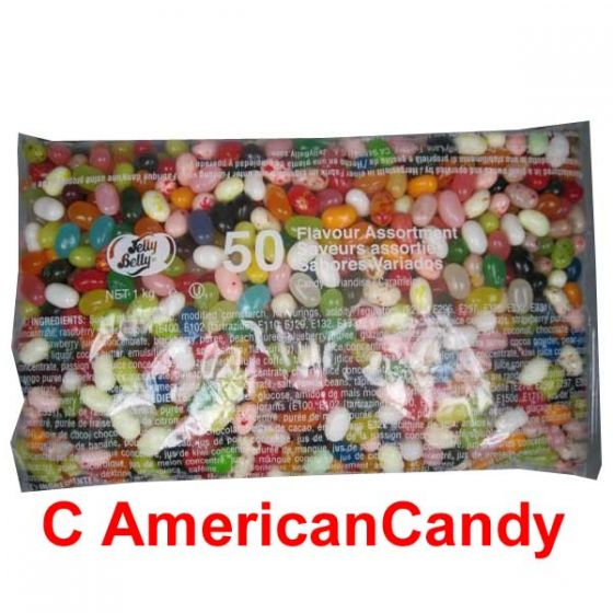 Jelly Belly Beans 50 Assorted Geschmäcker - 1000g