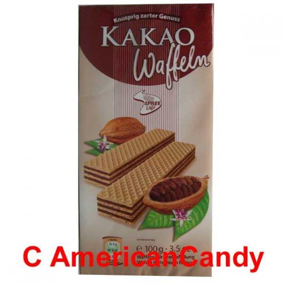 Kakao Waffeln 100g