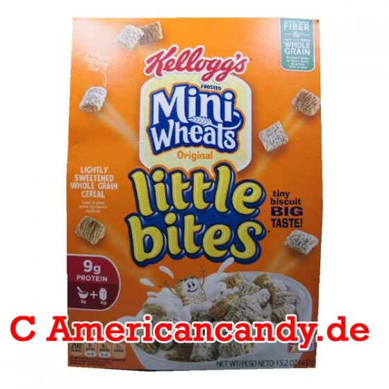 Kellogg's Frosted Mini-Wheats Original Little Bites 431g