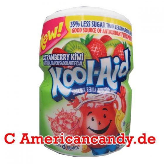 Kool Aid Barrel Strawberry Kiwi 538g