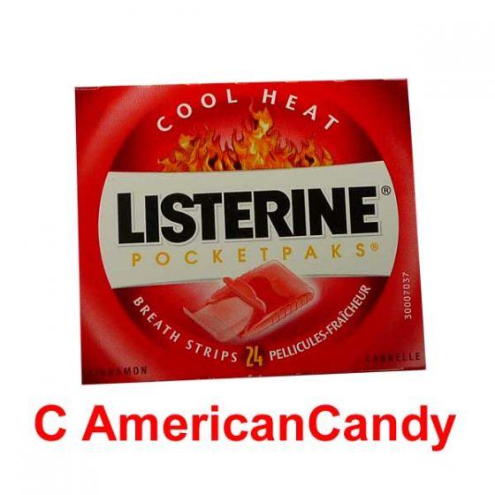 """Listerine Pocket Paks """"Cinnamon"""""""