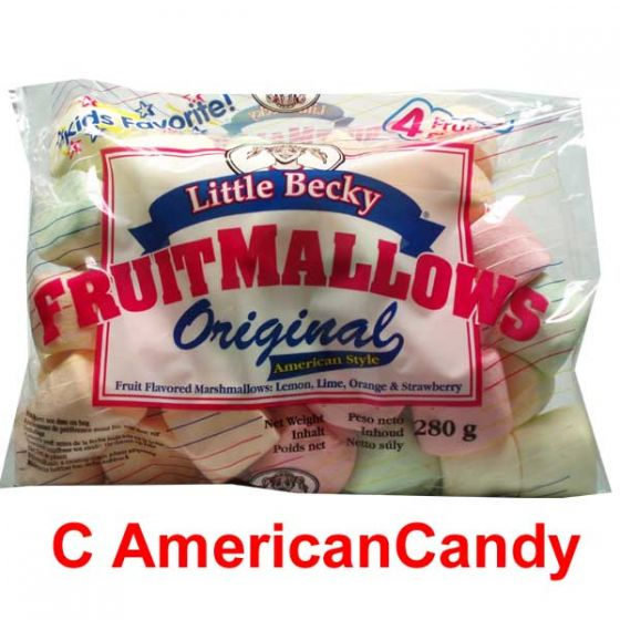 Little Becky Marshmallows Fruit Flavors 280g