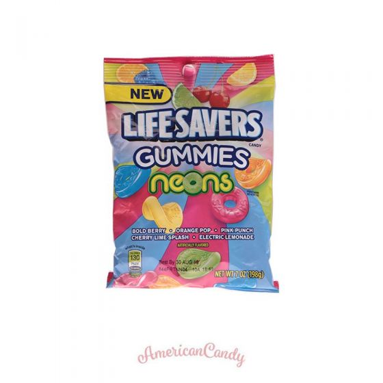 Lifesavers Gummies Neons GIANT Pack 198g