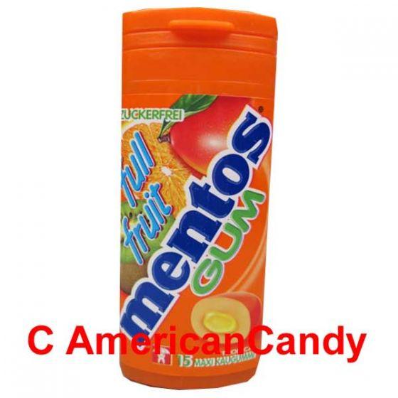 Mentos Full Fruit Gum Tropical
