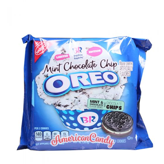 Oreo Mint Chocolate Chip 303g