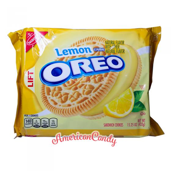 Oreo Lemon Limited Edition 432g