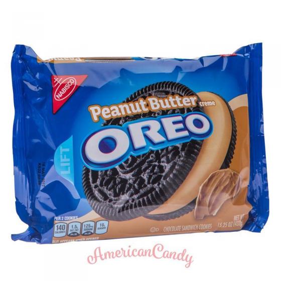 Oreo Peanut Butter Creme 432g