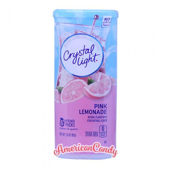 Crystal Light Natural Pink Lemonade