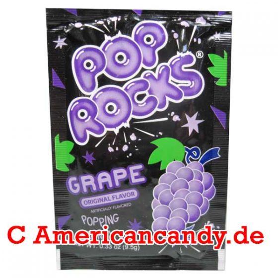 Pop Rocks Popping Candy Grape