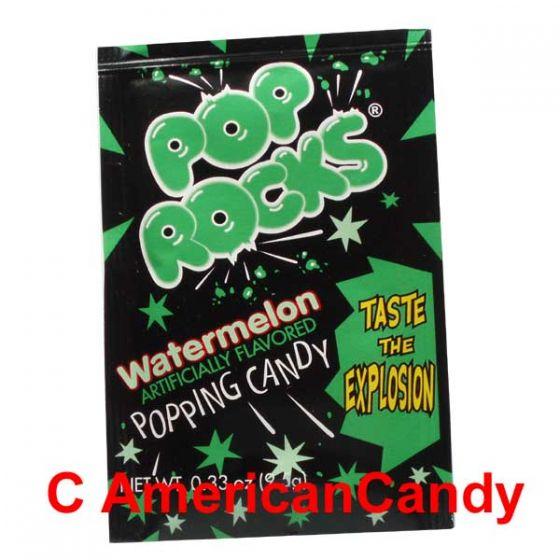 Pop Rocks Popping Candy Watermelon