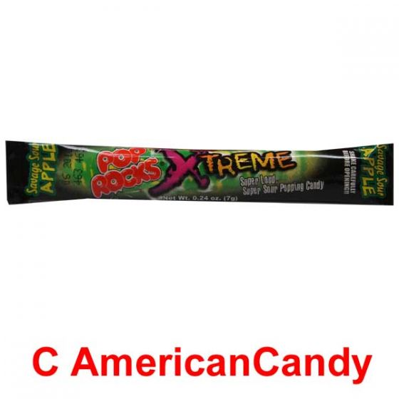 Pop Rocks Xtreme Savage Sour Apple