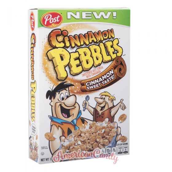 Post Cinnamon Pebbles Cereals