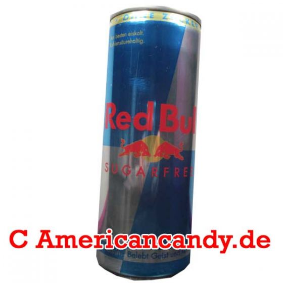 24x Red Bull Sugar Free incl. Pfand