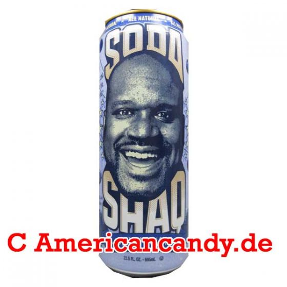 Arizona Shaq Soda Blueberry Cream Soda 695ml