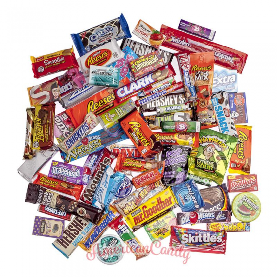 Doppelte Adventskalender Füllung (48 Sweets)