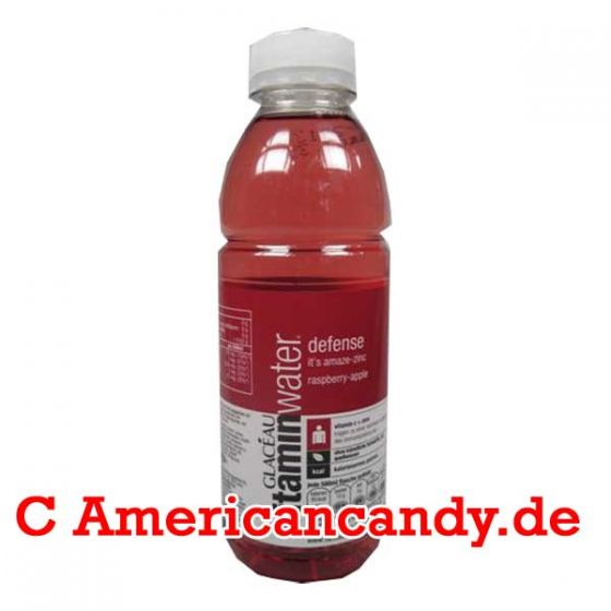 Vitaminwater Defense Raspberry Apple incl. Pfand