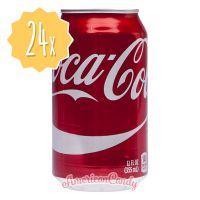 24x Coca Cola Classic USA