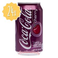 24x Coca Cola Cherry USA