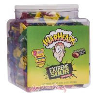 Warheads Extreme Sour Hard Candy Big Size Box 240 Stk.