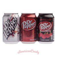 DR. PEPPER-MIX  (24 x Dr. Pepper (2 verschiedene Sorten))