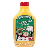 Squeeze Cheese Jalapeno Cheese Sauce 440ml