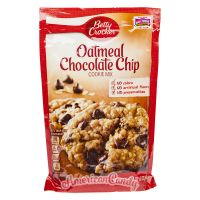 Betty Crocker Oatmeal Chocolate Chip Cookie Mix 496g